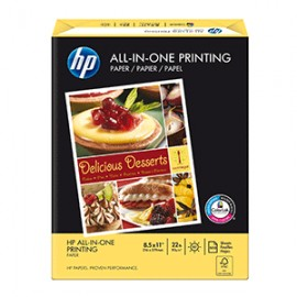 PAPEL ALL IN ONE PRINTING CARTA RESMA 500 HOJAS HP