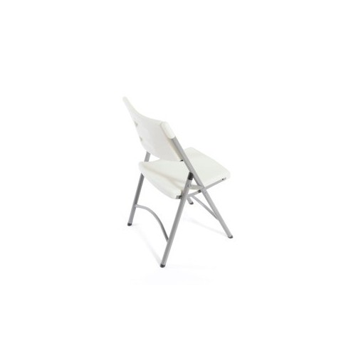 SILLA PLEGABLE OFFICE DEPOT WHITE - Envío Gratuito