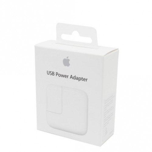 ADAPTADOR DE CORRIENTE USB APPLE (12W) - Envío Gratuito