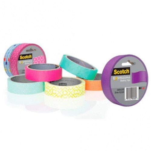 MASKING SCOTCH COLORES 24X18.6MM