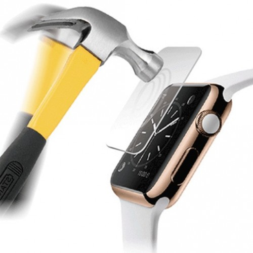 MICA PROTECTORA ANTISHOCK PARA APPLE WATCH (38MM) - Envío Gratuito