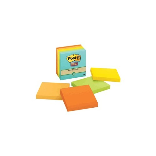 POST-IT FARMERS MARKET 3X3 5 PAQUETES CON 90 HOJAS