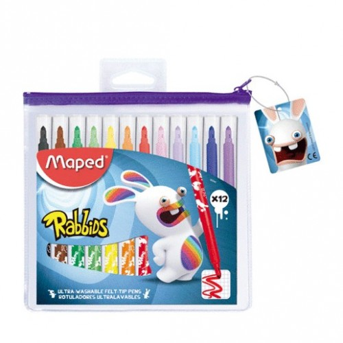 PLUMONES ULTRALAVABLES RABBIDS