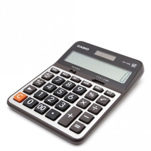 CALCULADORA BASICA CASIO DX120