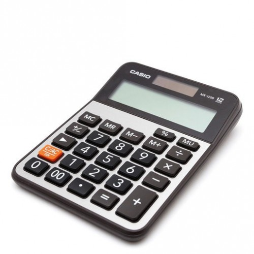 CALCULADORA BASICA CASIO MX120