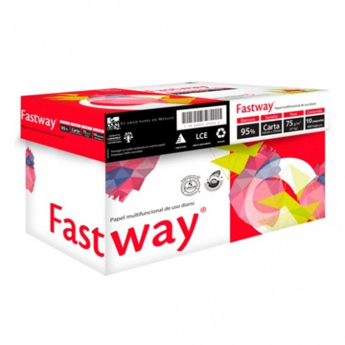 PAPEL PARA COPIADORA CAJA CON 5000 CARTA FASTWAY