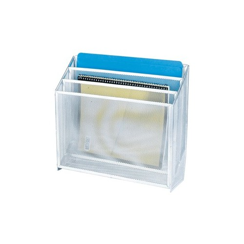 CLASIFICADOR TRIPLE MESH COLOR PLATA OFFICE DEPOT