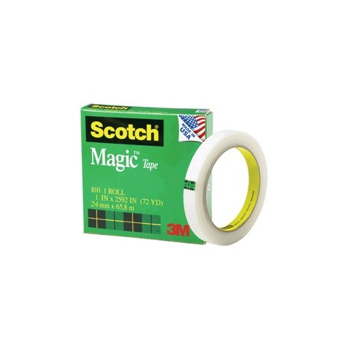 CINTA ADHESIVA SCOTCH 810 MAGICA 24MM X 65M