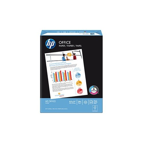 PAPEL OFFICE TAMANO CARTA RESMA CON 500 HOJAS HP