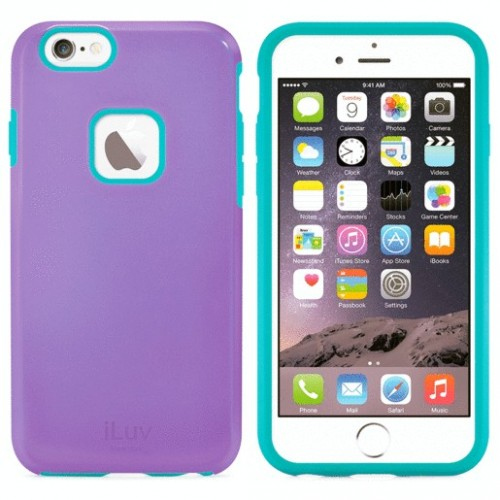 FUNDA ILUV REGATTA IPHONE 6 PLUS MORADA - Envío Gratuito