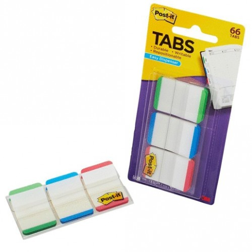 BANDERITAS POST-IT RIGIDAS COLORES SURTIDOS