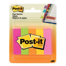 POST-IT MINISEPARADORES NEON PAQ/250