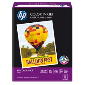 PAPEL COLOR INKJET CARTA RESMA CON 500 HOJAS HP